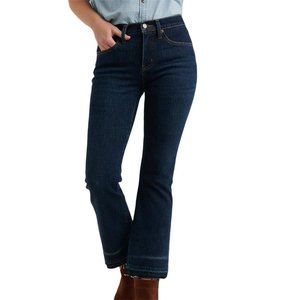 LUCKY BRAND Mid Rise Raw Hem Cropped Jeans Size 2
